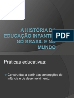 A Historia Da Educacao Infantil