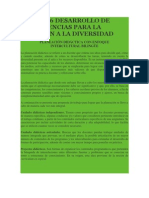 producto 6 DESARROLLO DE COMPETENCIAS PARA LA ATENCIÓN A LA DIVERSIDAD