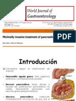 Tratamiento Minimamente Invasivo de La Necrosis Pancreatica (Parte Sol)