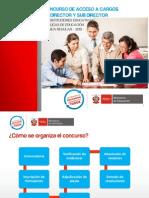 PPT Concurso Acceso a Cargos Directivos 2013