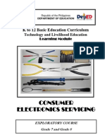 Consumer Electronics Learning Module