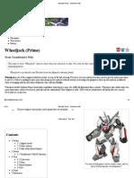 Wheeljack (Prime) - Transformers Wiki