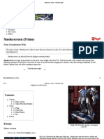 Smokescreen (Prime) - Transformers Wiki
