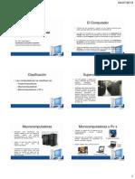 1.2 Partes y Funcionamiento Del Computador
