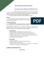 Michigan Landlord and Tenant Law