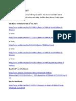 Basics of Biblical Greek Materials