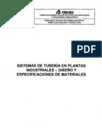 Nrf-032-Pemex-2005 Sist Tub en Plantas Ind Dis y Espec de Mat