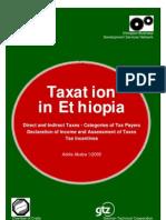Taxation in Ethiopia[1]
