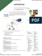 Konfig Router u Astinet
