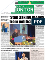 CBCP Monitor Vol. 17 No. 16