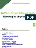 SAGA FALABELLA S.a. Estrategias Empresariales