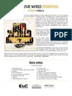 Flame - Our World Redeemed Lyrics