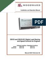 Woodward 2301D Manual