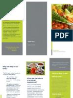 artificial ingredient brochure
