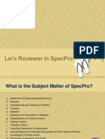 Powerpoint Reviewer Specpro