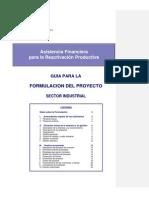 Guia Formulacion Proyecto Industrial