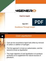 Coal to Liqued