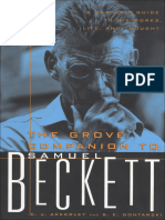 The Grove Companion to Beckett