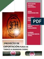 Exportacion de Tabaco a China DEFLORADO