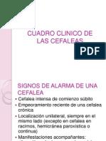 Cuadro Clinico de Cefalea