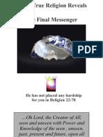 Every True Religion Reveals the Final Messenger