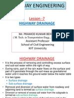Highway Drainage