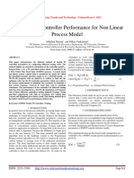Comparing PI controller Performance for Non Linear Process Model