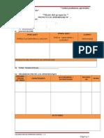 Modelo de Proyecto de Aprendizaje
