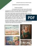 PRINCIPALES EXPONENTES DE LAS ARTES PLÁSRICAS DE ECUADOR