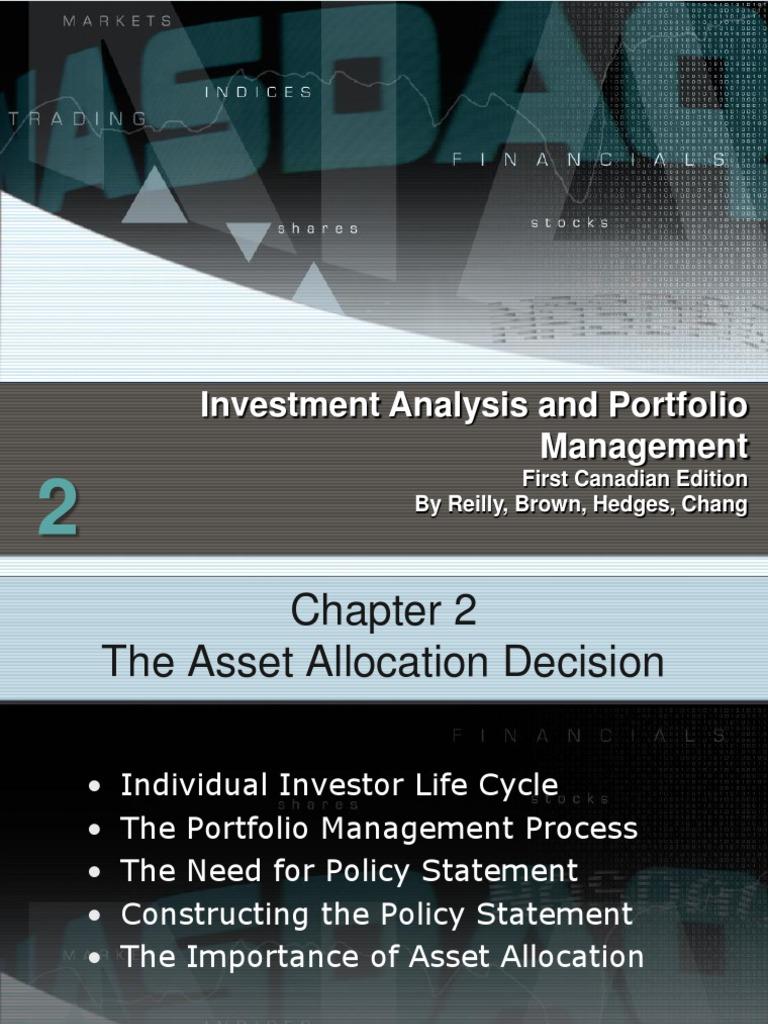 Investment analysis portfolio management scribd technical analysis forex today
