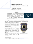 Feasibility Study Part – II Fission Mo-99 Production by the Irradiation of a LEU Metallic Uranium Foil at Tajoura Research Reactor