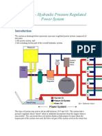 Section 1.4 Hydraulic Pressure Regulated Power System