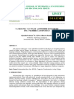 Ultrasonic Testing of Glass Fiber Reinforced Polypropylene Composites