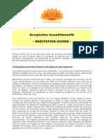 Acceptation Inconditionnelle