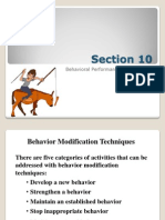 Behavioral Modification