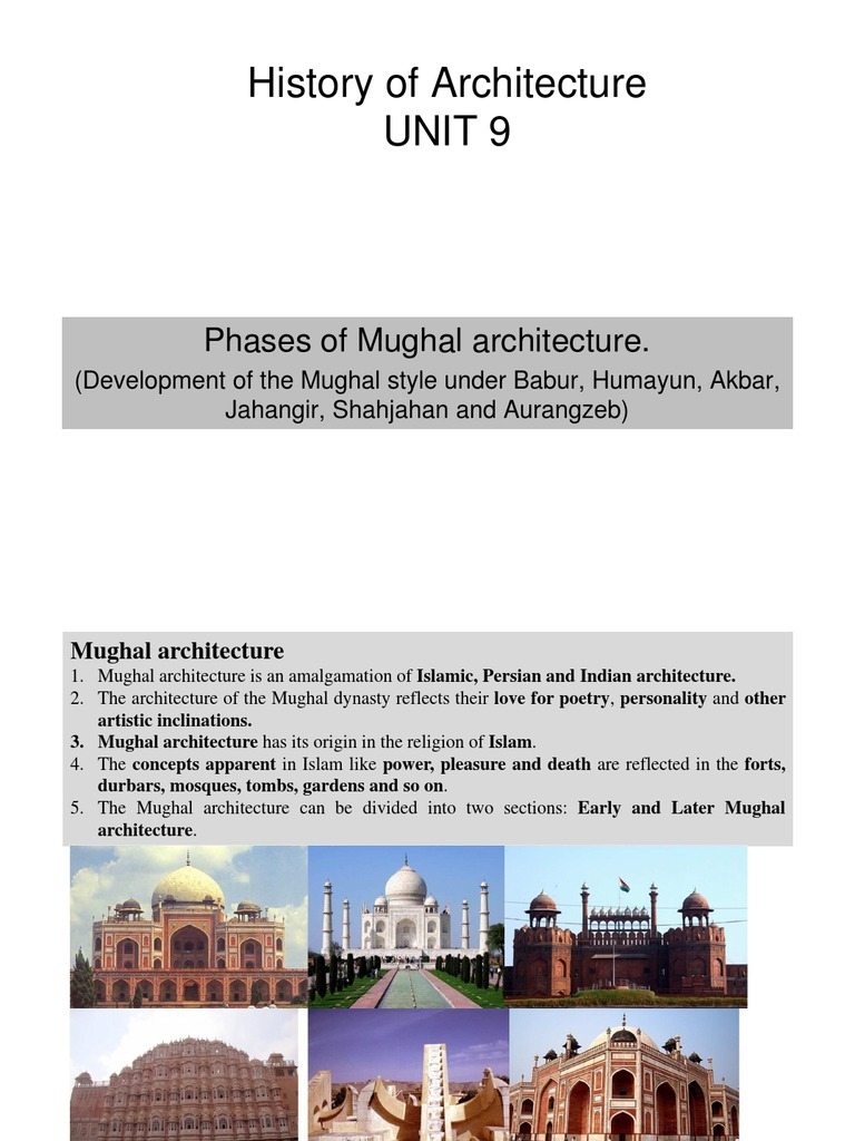 arc226 history of architecture 9 pdf mughal empire architectural