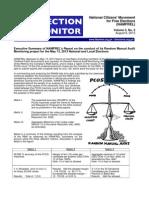 NAMFREL Election Monitor Vol.3 No.2 08082013