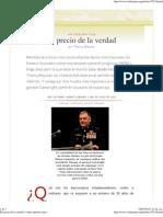 RedVoltaire_El Precio de La Verdad. Thierry Meyssan