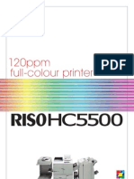 Midshire Business Systems - Riso HC5500 Brochure