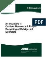 AHRI Guideline Q-2010