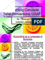 Accounting Concepts and Conventions