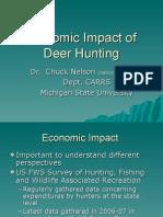 Chuck Nelson-Economic Impact of Deer Hunting