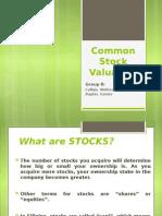 Common Stock Valuationaaaaaaaaaaaaaaaaaaaaaaaaaaaaaaaaaaaaaaaaaaaaaaaaaaaaaaaaaaaaaaaaaaaaaaaaaaaaaaaaaaaaaaaaaaaaaaaaaaaaaaaaaaaaaaaaaaaaaaaaaaaaaaaaaaa