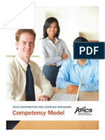 Distribution and Logistics Managers Competency Model
