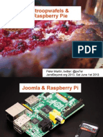 Stroopwafels and Raspberry Pie (Joomla on Raspberry Pi with Nginx)