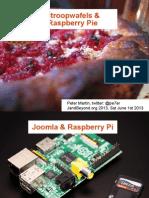 Stroopwafels and Raspberry Pie (Joomla on Raspberry Pi with Nginx)