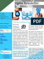 Origiin Newsletter August 2013