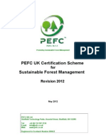 PEFC UK Certification Scheme for Sustainable Forest Management