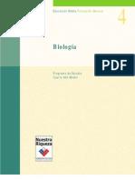 Plan y Programa Biologia Cuarto Medio