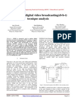 Ofdm based digital video broadcasting(dvb-t)